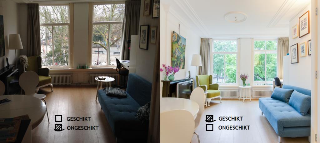 professionele foto's airbnb-profiel